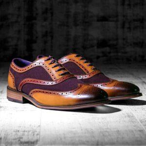 Wellesley Suede Purple 1