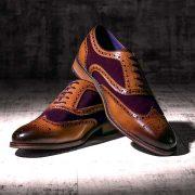 Wellesley Suede Purple 2