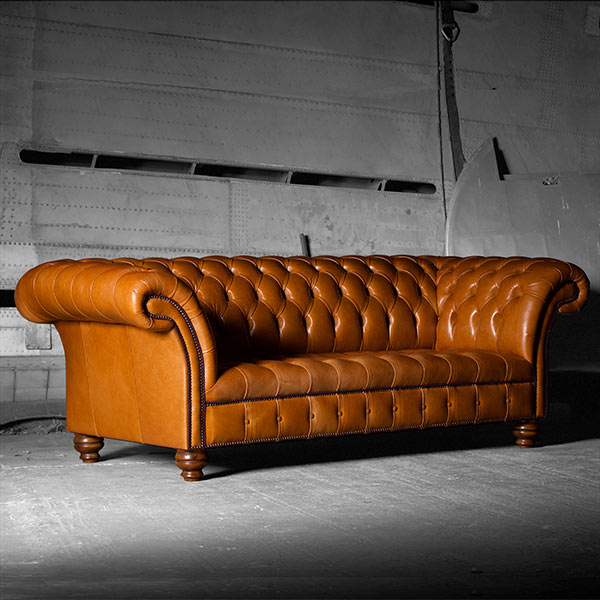 The U201cBlenheimu201d Chesterfield Leather Sofa U0026 Chair Range