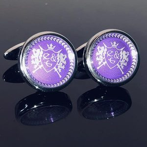 Eves & Gray Cufflinks 1 With Logo