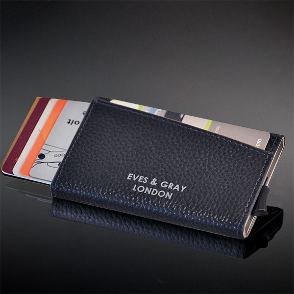 RFID Italian Leather Wallet Black 9