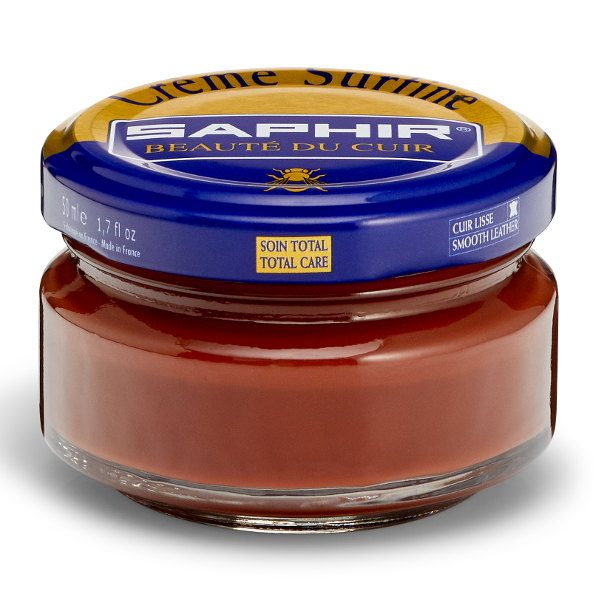 Creme Surfine Pommadier Protective Leather Wax – Cognac Brown